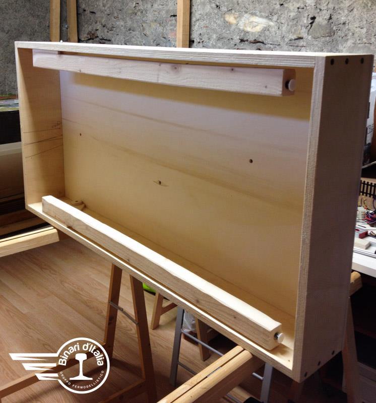 L'origine di tutto un semplice modulo di legno con un'efficace progettazione alle spalle.