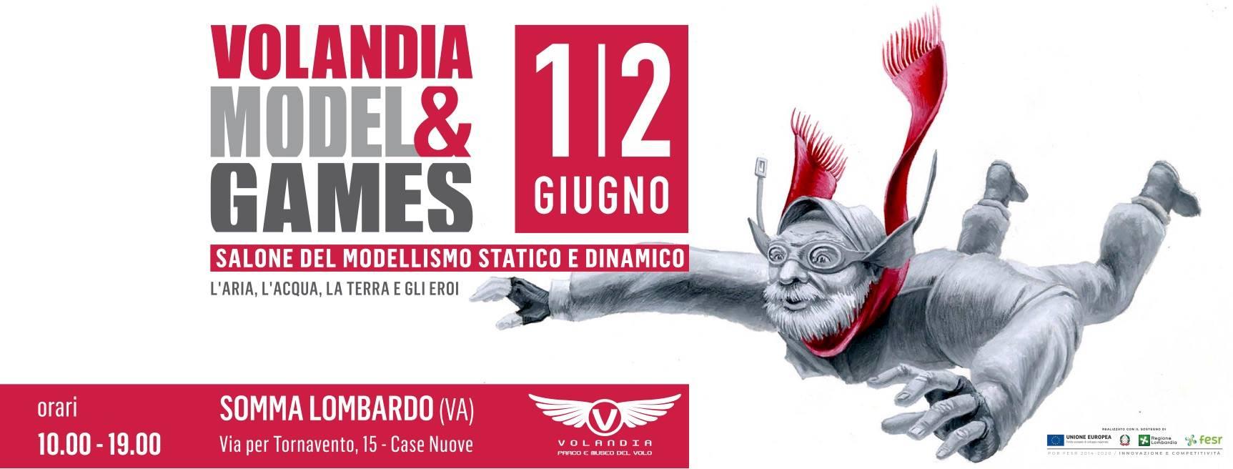 Banner Volandia Model & Games 2019